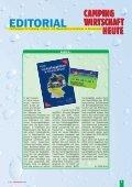 Innovative Ver- und Entsorgungsstationen - Campingwirtschaft Heute - Seite 3