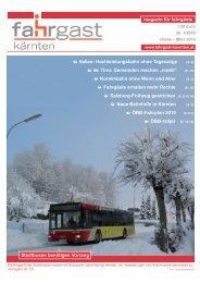 magazin für fahrgäste Stadtbusse benötigen ... - Fahrgast Kärnten