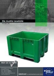 Die Austria Lesekiste - Europlast