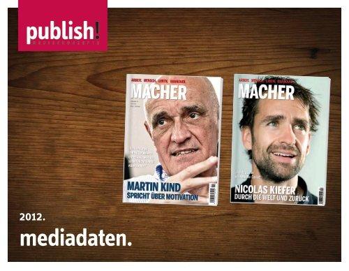 auf den punkt. - MACHER – das Magazin