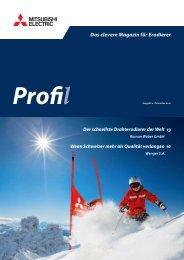 Kundenmagazin - Profil 02/10 - Mitsubishi Electric