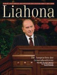 Mai 2008 Liahona - Kirche Jesu Christi der Heiligen der Letzten Tage