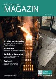 Swiss Recycling Magazin