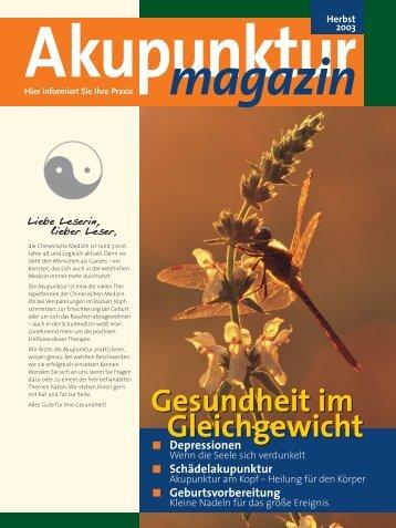 Akupunktur magazin - DÄGfA