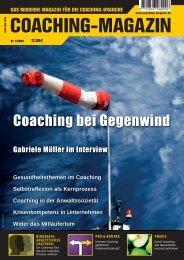 Coaching bei Gegenwind - Coaching-Magazin