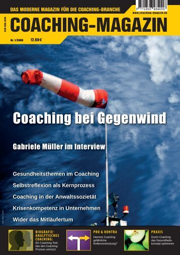 Coaching bei Gegenwind - Coaching-Magazin