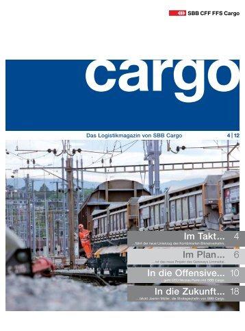 Cargo Magazin 4 / 12 - SBB Cargo