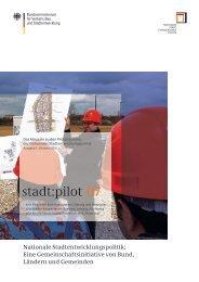 stadt:pilot 07 - Das Magazin zu den Pilotprojekten - Nationale ...
