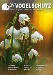 1 • 2012 Magazin für Arten- und Biotopschutz - LBV