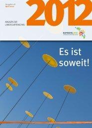 Magazin zur Landesgartenschau - Landesgartenschau Bamberg