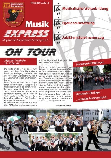 Magazin MVH - Musikverein Herdringen eV