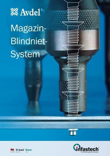 Magazin- Blindniet- System - Avdel