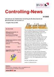 C ontrolling-News - Bundesverband der Bilanzbuchhalter und ...