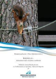 RAJALLA - - Mikkelin ammattikorkeakoulu