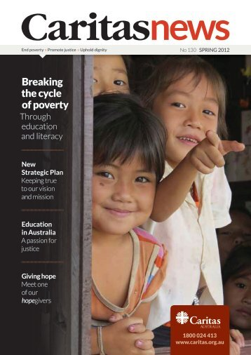 New Strategic Plan - Caritas Australia