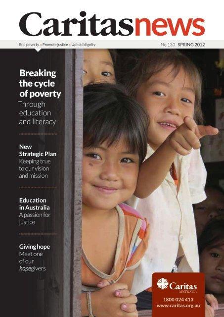 New Strategic Plan - Caritas Australia