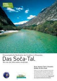 Das Soča-Tal. Erleben Sie andere Geschichten. - Slovenia