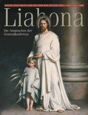 November 2006 Liahona - Kirche Jesu Christi der Heiligen der ...