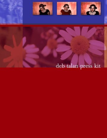 deb talan press kit