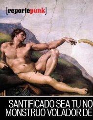 santificado sea tu nombre, monstruo volador de espagueti - Emeequis