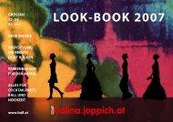 LOOK-BOOK 2007 - Balina.joppich.at