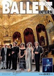 Ballett Intern 2/2007 - Deutscher Berufsverband für Tanzpädagogik