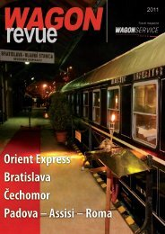 WAGON Revue 2011 (PDF 13,65 MB) - WAGON SERVICE travel