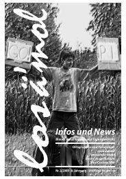 Infos und News - Blaues Kreuz Kinder