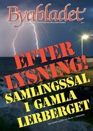 Byabladet nr 3 2011 - Lerberget