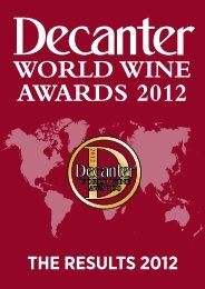 THE RESULTS 2012 - Petersfield Wine Circle