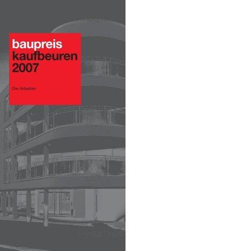 baupreis kaufbeuren 2007 - Stadt Kaufbeuren