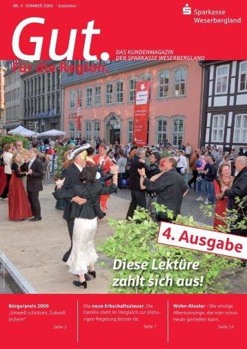 4. Ausgabe - Sparkasse Weserbergland