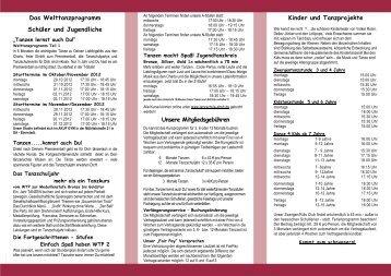 Www Tanzschule Scholz De Magazines
