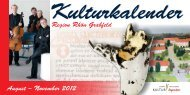Märkte, Tanz & Feste, Kreatives & Natur - Landkreis Rhön-Grabfeld