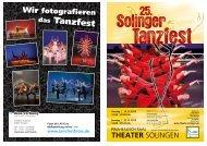das Tanzfest - Theater Solingen