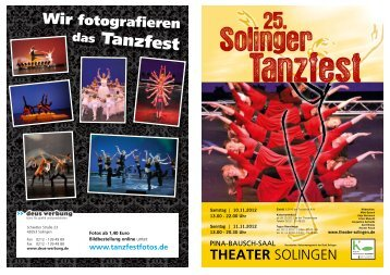 das Tanzfest - Theater Solingen
