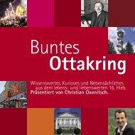 Buntes Ottakring - Ottakring schreibt Geschichte