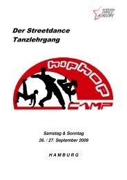 Das Tagesprogramm - Hamburg Dance Academy