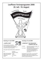 Download Ferienprogramm 2008 (pdf, 1 MB) - Stadt Lauffen am ...
