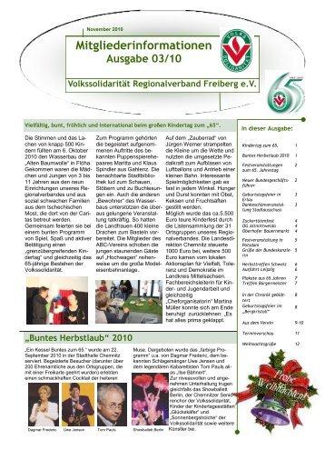 Informationsblatt 03/2011 - Volkssolidarität Bundesverband e.V.