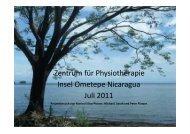 Bericht von der Ometepereise 2011 - Ometepe-Projekt Nicaragua