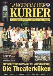 27. Ausgabe Dezember - Langenbach