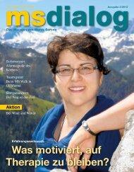 msdialog Oktober (3,31 MB) - Leben mit MS