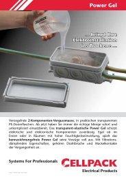 kennzeichnungsfreie Power Gel - Cellpack Electrical Products