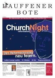 reformation 31.10 - Stadt Lauffen am Neckar