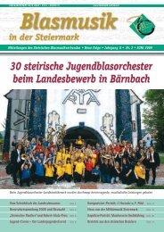 30 steirische Jugendblasorchester beim Landesbewerb in Bärnbach