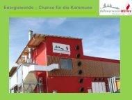 Böhmerwald-Wärme Waldmünchen GmbH - Regierung der Oberpfalz