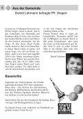 Gemeindebrief Ostern 2011 - Evangelische Kirche Reinheim - Page 6