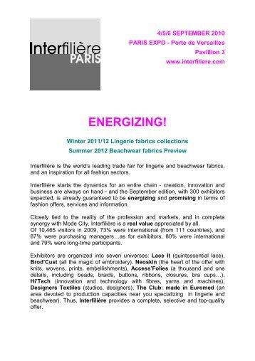 visionary and avant-garde! - Trade Fairs