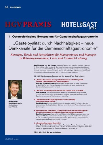Konzepte, Trends und Perspektiven für ... - Hotel & GV Praxis